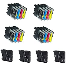 20 X CARTUCHOS COMPATIBLES NON OEM Brother Lc1100 LC980 , DCP-145C, DCP-163C, DCP-165C, DCP-167C, DCP-185C, DCP-195C, DCP-197C, DCP-365CN, 373CW, DCP-375CW, DCP-377CW, DCP-383C, DCP-385C, DCP-387C, DCP-395CN, DCP-585CW, DCP-6690CN, 6690CW, DCP-J715W, MFC-250C, MFC-255CW, 257CW, M