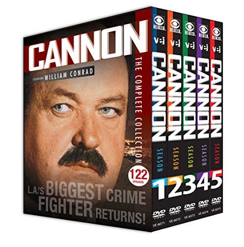 Cannon: Complete Collection - DVD Boxset