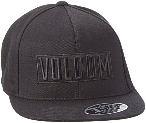 volcom-mens-baseball-cap-d553165-tangle-black-one-size-black