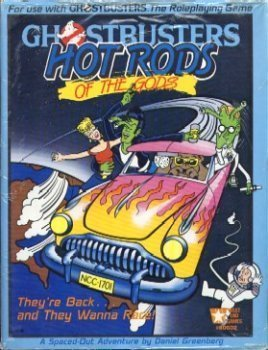 Hot Rods of the Gods (Ghostbusters RPG) [Paperback] by Greenberg, Daniel