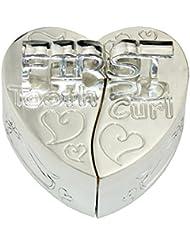 caja de dientes, dientes FGF cajas de regalo en forma de corazón con las palabras Modelo No. RKS-TB001d