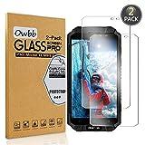 Owbb [2 Stück] Gehärtetes Glas Bildschirm schutzfolie Für Oukitel K10000 Max Smartphone Schutz 99% High Transparent Explosionsgeschützter Film