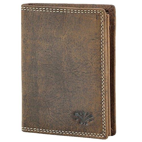 Echt Leder Herren Geldbörse Portemonnaie Brieftasche Geldbeutel Kartenetui