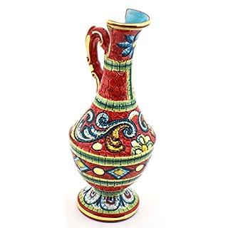 Art Escudellers Keramik bunt handbemalt mit 24 K Gold verziert im Byzantine Style 31421.r - Cruche
