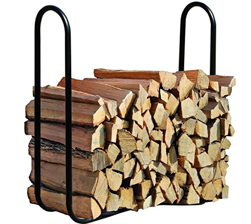 ShelterLogic Kaminholzregal, Kaminholzhalter, Aufbewahrungsregal 120cm // Brennholzregal für Kaminholz