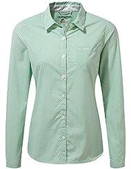 Craghoppers Womens/Ladies NosiLife Shona Long Sleeve Travel Shirt