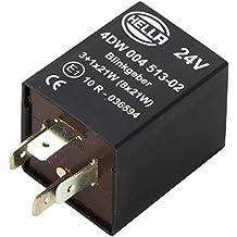 24V HELLA 4DM 003 474-001 Blinkgeber mit Halter elektronisch
