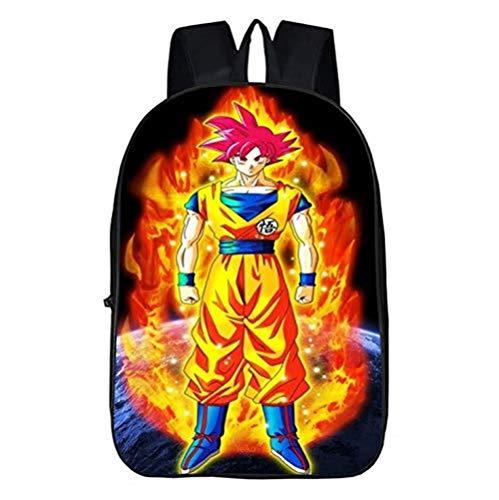 ck Dragon Ball Karikatur Junge Laptop Lager Abteil Tagesrucksack Büchertasche Kinder Geschenk ()