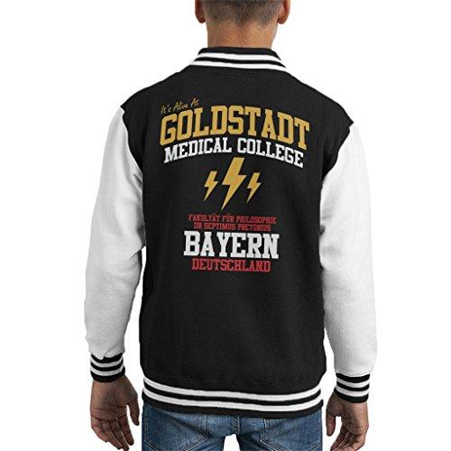 Cloud City 7 Frankenstein Goldstadt Medical College Kid's Varsity Jacket