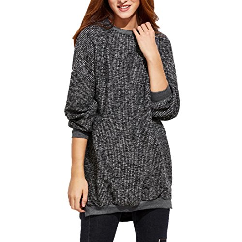 ?? Mode Femmes Chemise, Ularmo® Manche Longue O Neck Pull à Tricot ??