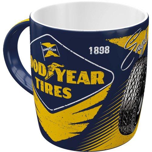 Nostalgic-Art 43045 Goodyear - Eagle Tire | Retro Tasse | Kaffee-Becher | Geschenk-Tasse | Vintage...