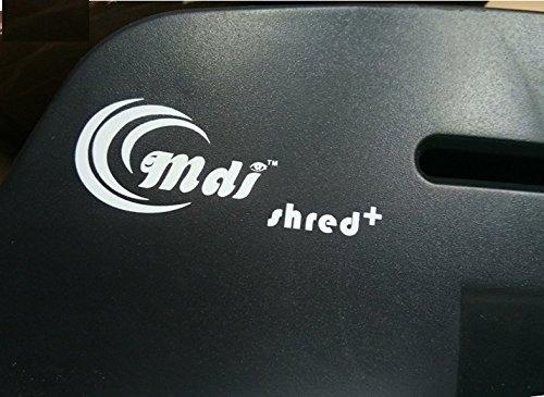 ooze Mdi Shred Plus Cross Cut Paper Shredder / Trimmer With 21 L Waste Bin