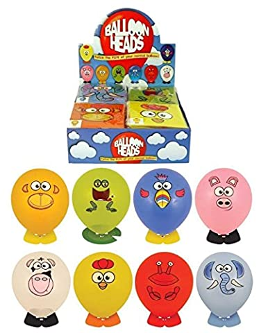 Stickers Etagere - 24 x Etagère Confectionner Animal Tête Ballons