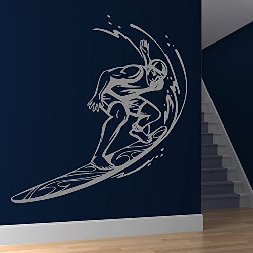 Surf fumetto Waves Surf Consiglio Wall Stickers