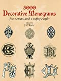 Image de 5000 Decorative Monograms for Artists and Craftspeople
