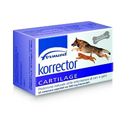Formevet - Korrector Cartilage 60 Compresse 1.200,00 mg