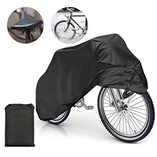 870444d10d6 Samione fundas para bicicletas Impermeable Anti Cubierta para Bici ...