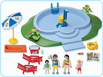 Swimmingpool playmobil gebraucht kaufen nur 4 st bis 60 for Piscine de playmobil
