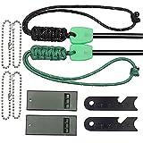 LLCP Fire Starter Mg Silice Kit Di Accensione, Impermeabile Fuoco Flint, Outdoor Campeggio Sopravvivenza Strumento,