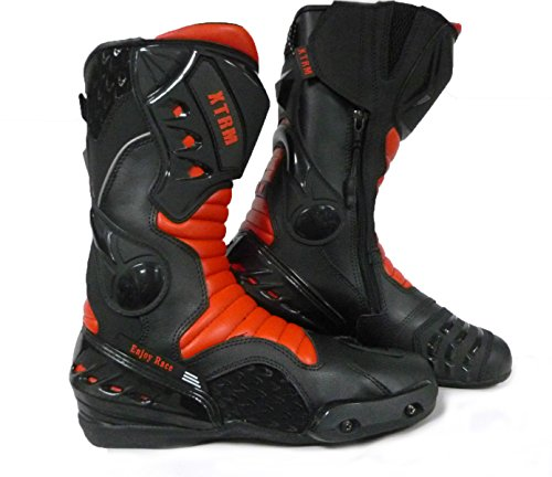MOTORRADSTIEFEL XTRM CORE Touring MX Motocross Racing Sports Allround Stiefel ROT (41)