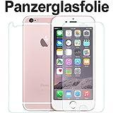 tomaxx Panzerglasfolie Panzerfolie Apple iPhone 6S Plus Glasfolie Hartglas 9H (1 x VORNE und 1 x RÜCKSEITE) Panzerglas