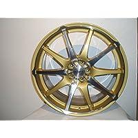Dotz Shiruken Gold and Polished 8x18