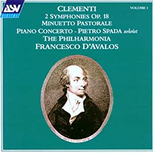Clementi: Orchestral Works, Vol.1