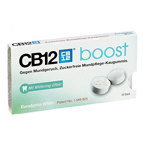 CB12 Boost eucalipto Chewing Gum, 10 St