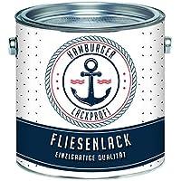 Pintura para azulejo brillante negro RAL 9005baldosas Color en Set//Hamburger barniz de profesional, Negro