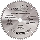 Tendance CSB/cc30564 305 x 30 mm 64 dents CraftPro Scie Lame