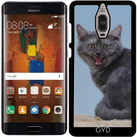 Coque pour Huawei Mate 9 Pro - Dangereux Chat Animal