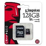 Keple | Canon EOS 600D (Body Only) 128GB SD Speicherkarte Karte fur Kamera Digitalkamera | Kingston Class 10 SDHC SDXC