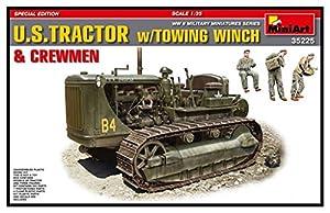 Unbekannt Mini Tipo 35225-Maqueta de U.S. Tractor Towing Winch y crewmen Special Edition