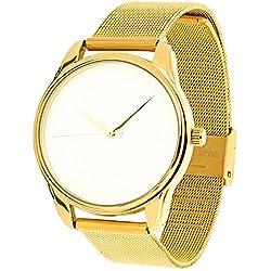 Zeigt weißer, Armband aus Metall-White & Gold