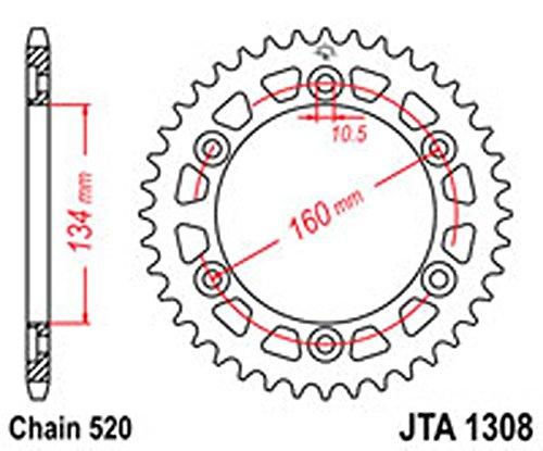 Preisvergleich Produktbild Kettenrad R/W 1308–41Legierung NEU