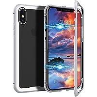 CE-Link iPhone X Hülle Glas mit Magnetisch Panzerglas Rückseite Durchsichtig Handyhülle Transparent Hard Case... preisvergleich bei billige-tabletten.eu