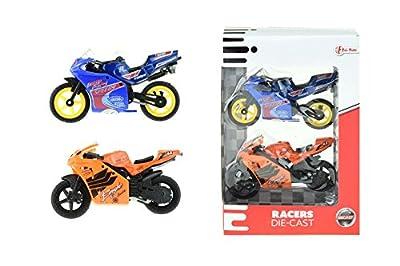 toi-toys–2teilig die-cast Moto in Box Fenster Fahrzeuge, 21300A, Mehrfarbig von Toi-Toys
