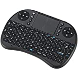 Generic Black : Mini 2.4G Wireless Keyboard Handheld Air Mouse Touchpad Remote Control For Xbox360/PS3/Andriod TV Box Smart TV HTPC IPTV PC Pad
