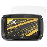 atFoliX Schutzfolie für Tomtom Rider 550 Displayschutzfolie - 3 x FX-Antireflex blendfreie Folie