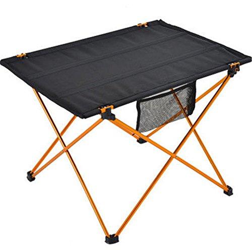 Qazwsx Camping Table Portable Pliable en Aluminium pour Randonnée Pêche Plage Camping Voyager en Plein Air