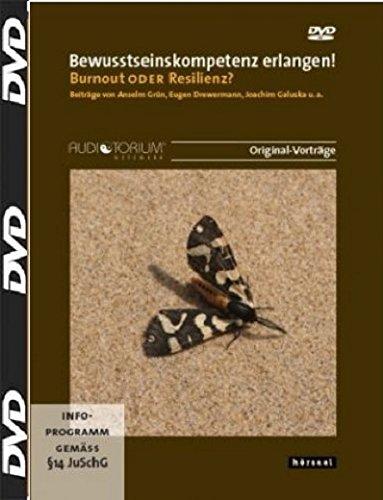Preisvergleich Produktbild Bewusstseinskompetenz erlangen! 2 DVD,  Burnout oder Resilienz