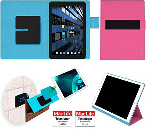 reboon Hülle für Archos Diamond Tab 2017 Tasche Cover Case Bumper | in Pink | Testsieger