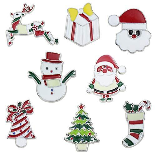 PINH - Broche navideño con Adornos navideños