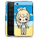 DeinDesign Coque Compatible avec Apple iPhone 3Gs Étui Housse Plage Kawaii Manga