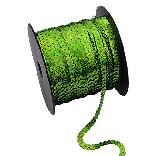 Wonque tiras lentejuelas PVC 100 yardas aptas accesorios