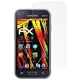 atFolix Folie für Samsung Galaxy J1 Mini (2016) / Galaxy J1 NXT Displayschutzfolie - 3 x FX-Antireflex-HD hochauflösende entspiegelnde Schutzfolie