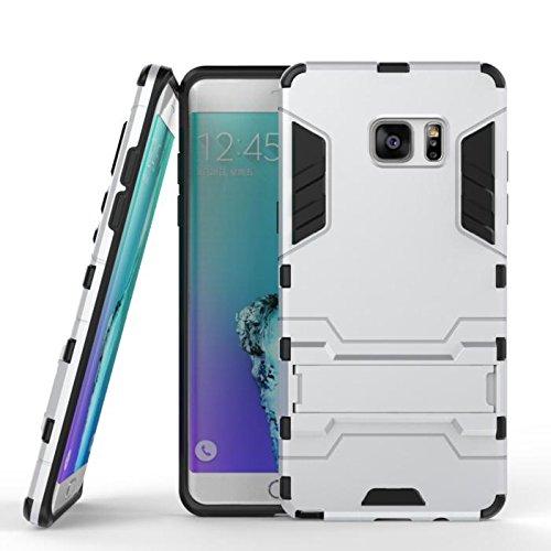 Aventus ( Grigio Scuro ) Samsung Galaxy A3 (2017) Custodia Sottile Fusion Armour Kickstand Slim Con Schermo Lcd Protector E Alluminio Auricolari Inclusi
