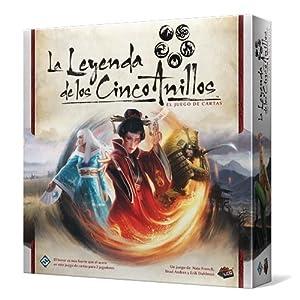 Asmodee – La Leyenda de los Cinco Anillos, Juego de Cartas (Fantasy Flight Games FFL5C01)