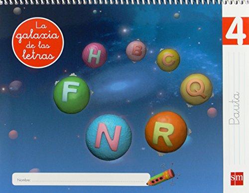 Lectoescritura 4, pauta la galaxia de las letras