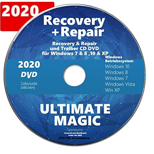 Recovery & Repair CD DVD für Windows 10 & 7 & 8 + Vista + XP Bootfähig✔ Notfall CD✔ Computer PC Reparatur NEUWARE